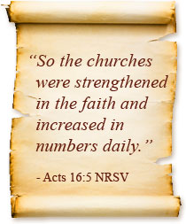 Acts 16:5